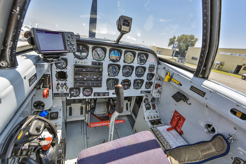 T-34 Trainer Front Seat N337AR